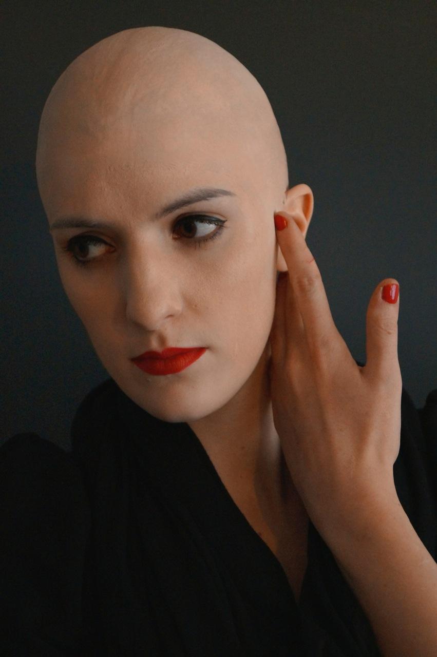 Frau sucht mann mit glatze