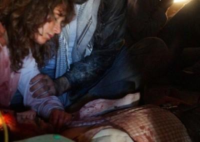 "Flüchtlinge am Filmset; ""Escaping Damascus"""