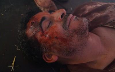 """Kopfschuss bei dem Filmprojekt """"Escaping Damascus"""" als 2ter Maskenbildner, in zusammenarbeiten mit  First Maskenbildner Simon Seles"""